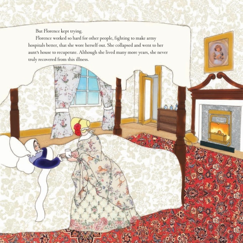 florence nightingale interior by demi