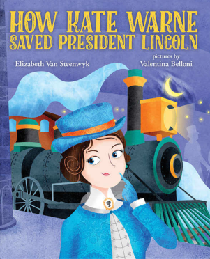how kate warne saved president lincoln cover image