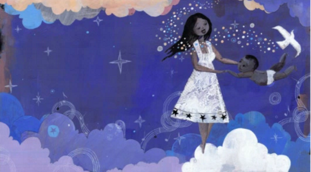 lullaby for a black mother illustration sean qualls