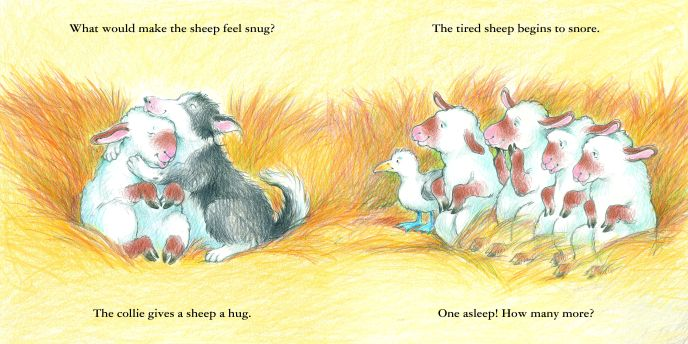 sheep go to sleep interior shaw and apple