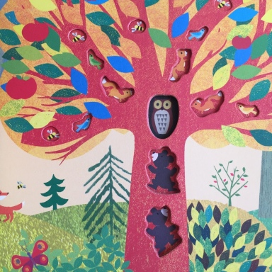 tree illustration detail britta teckentrup