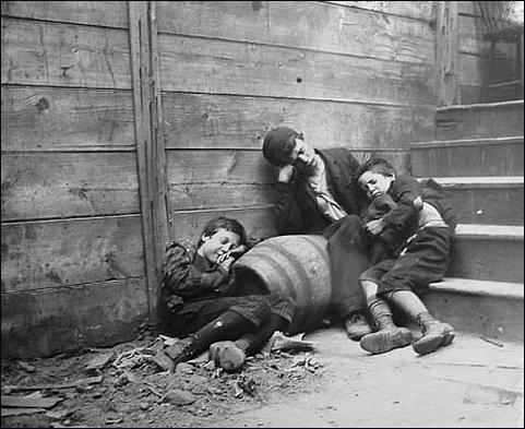 homeless children by jacob riis