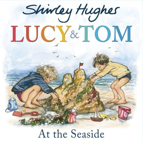 lucy and tom at the seaside cover image
