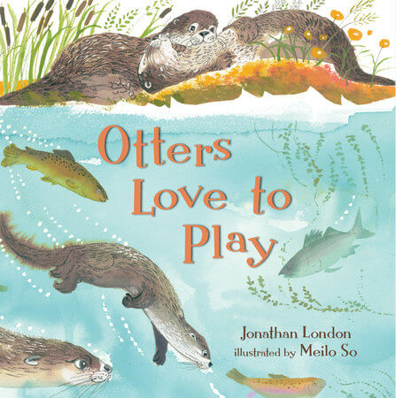 otters love to play cover image