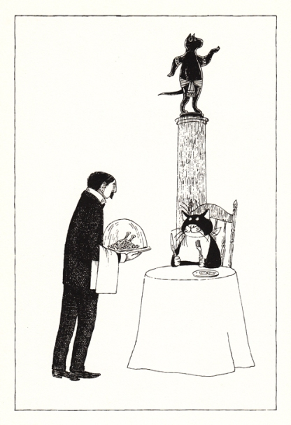 practical cats illustration2 edward gorey