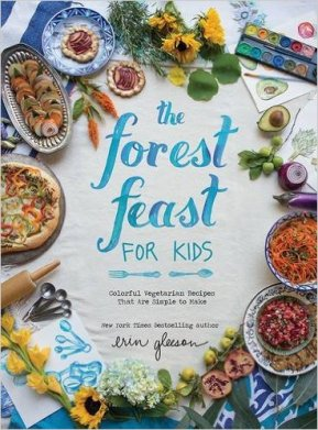 the forest feast for kids cover image