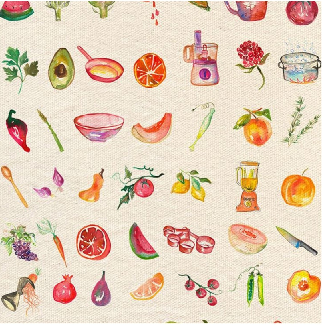 the forest feast for kids endpapers by erin gleeson