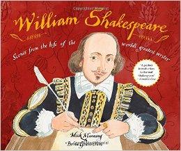 william shakespeare scenes from the life of the world's greatest writer cover image