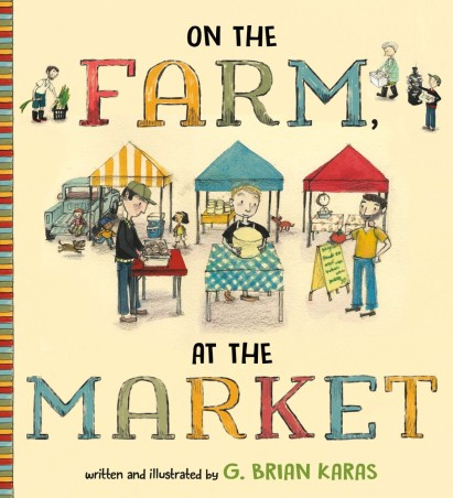 on the farm at the market cover image