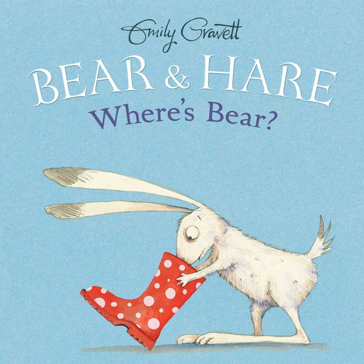 bear and hare where's bear cover image