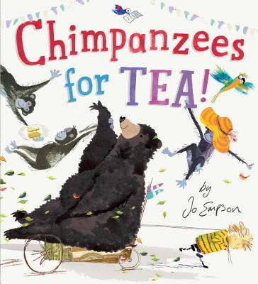 chimpanzees for tea cover image