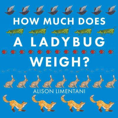 how much does a ladybug weigh cover image