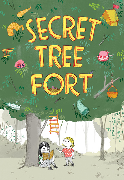 secret tree fort cover image