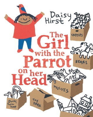 the girl with the parrot on her head cover image