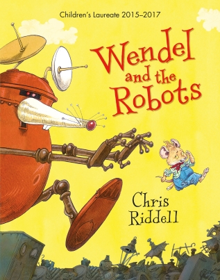 wendel and the robots cover image