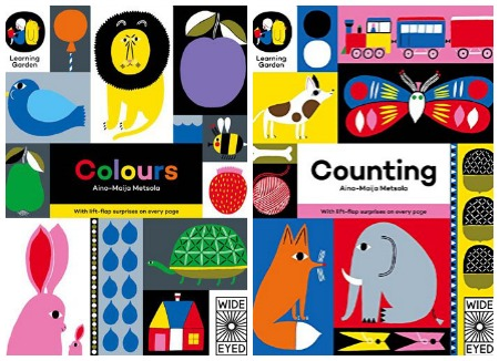 colors and counting cover images