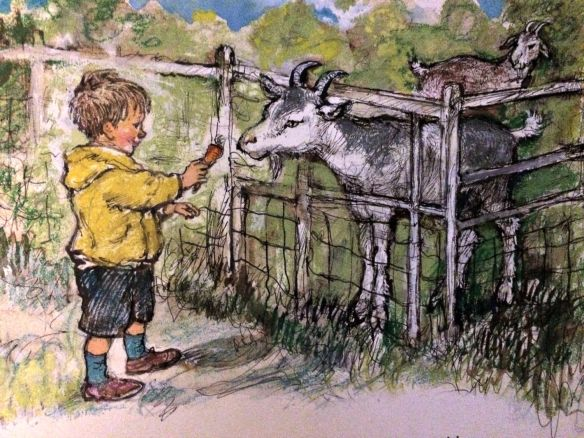 alfie outdoors illustration shirley hughes