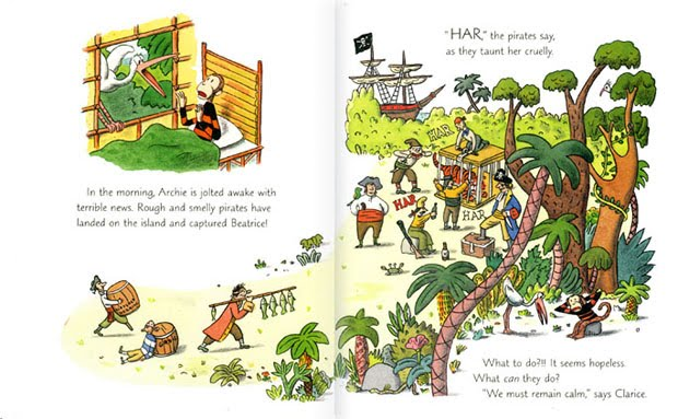 archie and the pirates interior2 by marc rosenthal