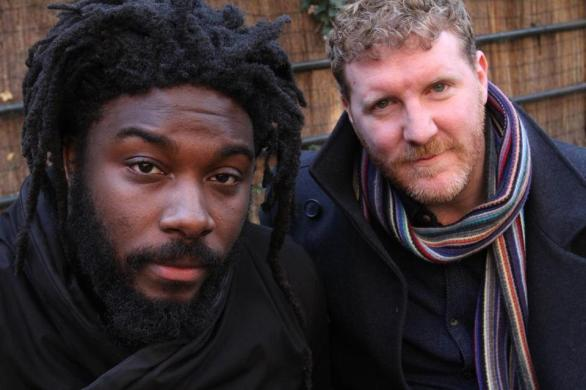 Authors Jason Reynolds and Brendan Kiely
