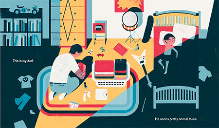 my dad used to be so cool interior keith negley