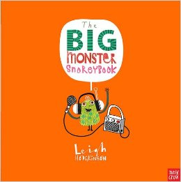 the big monster snorey book cover image