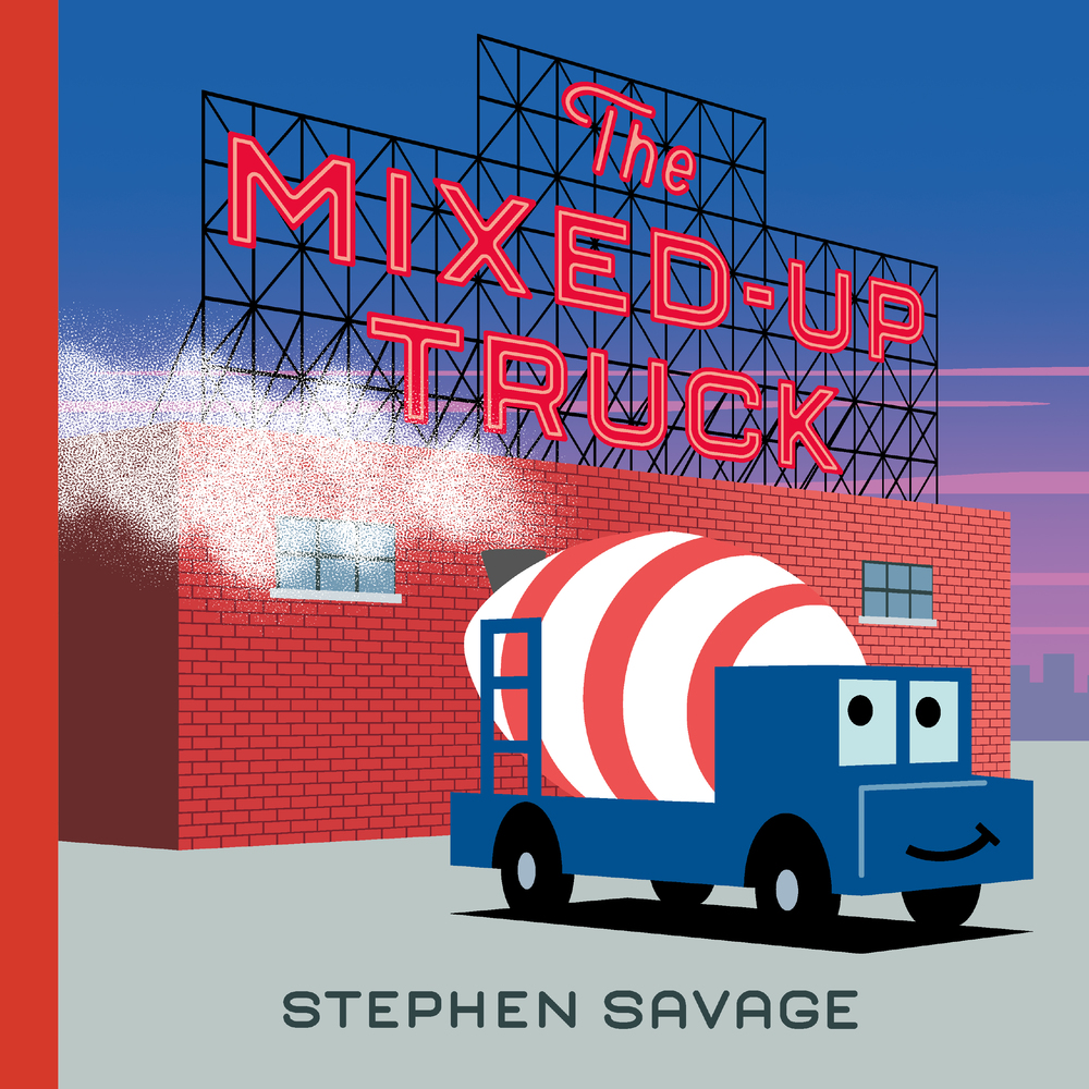 the mixed up truck cover image