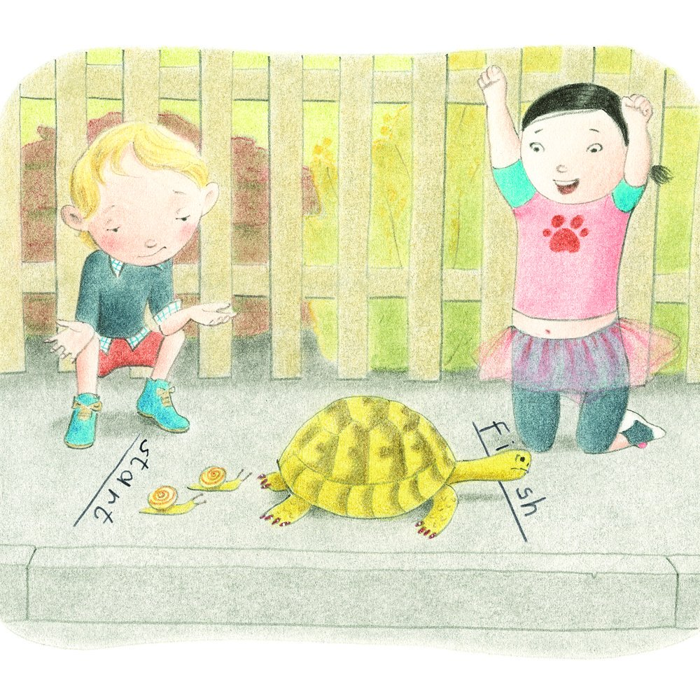who wants a tortoise? illustration by K.G. Campbell
