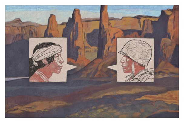 the-navajo-code-talkers-illustration-by-gary-kelley
