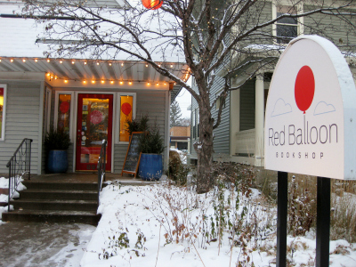 Red Balloon Bookshop -- a delightful Twin Cities children's bookseller.