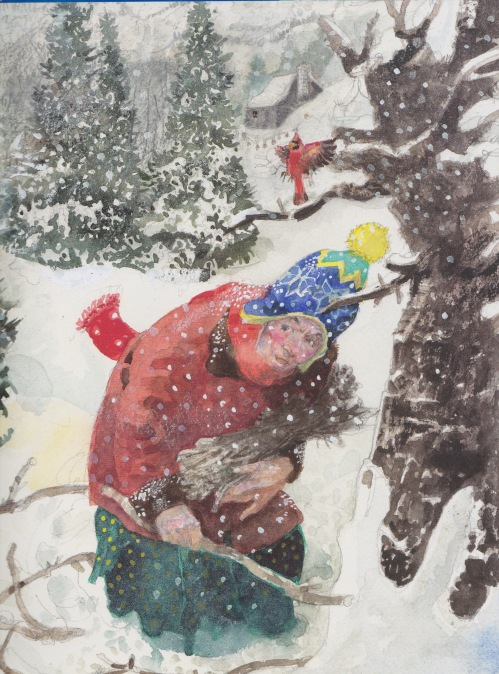 the-christmas-boot-illustration-detail-jerry-pinkney