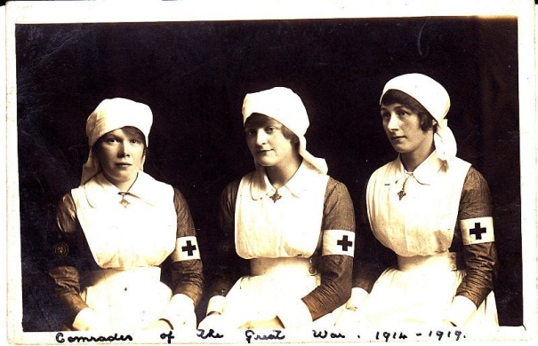 VAD nurses, World War One