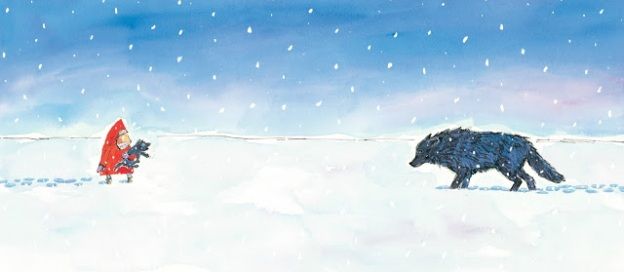 wolf-in-the-snow-illustration-matthew-cordell