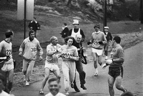 1967 -- Women were not allowed to run the Boston Marathon.