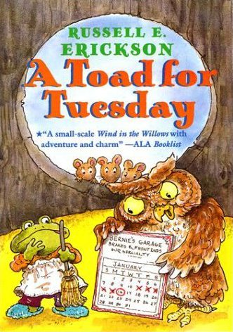 a toad for tuesday1 cover image