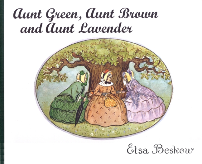 aunt green aunt brown and aunt lavender cover image