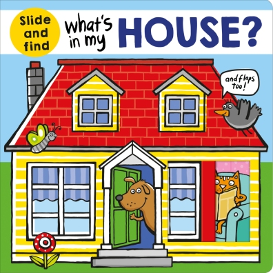 what's in my house cover image