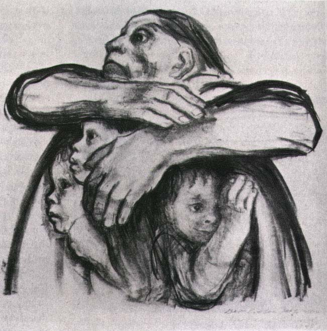kathe kollwitz, seed corn must not be ground