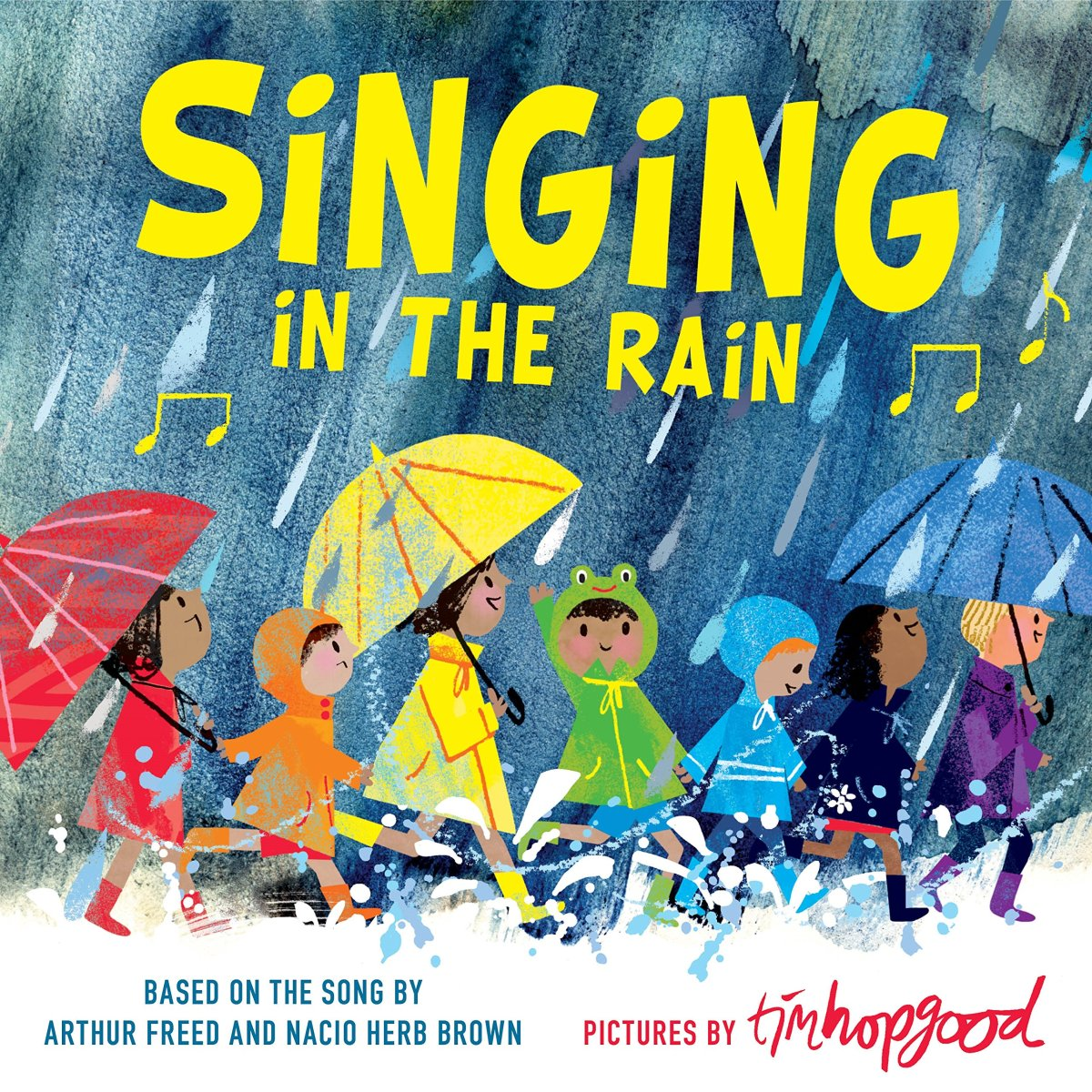 singing in the rain cover image
