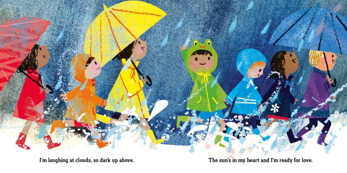 singing in the rain interior by Tim Hopgood