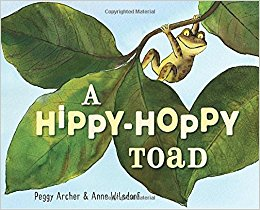 a hippy hoppy toad cover image
