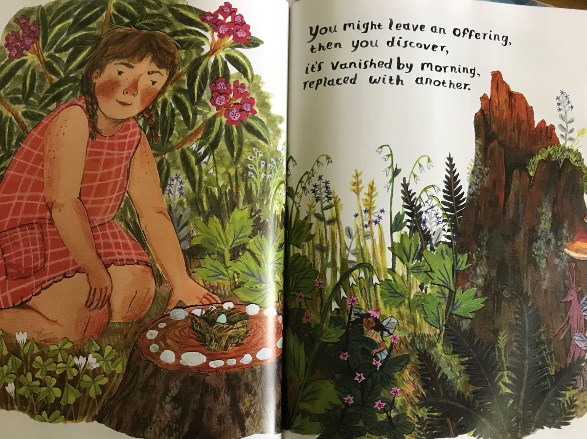 backyard fairies interior2 by Phoebe Wahl