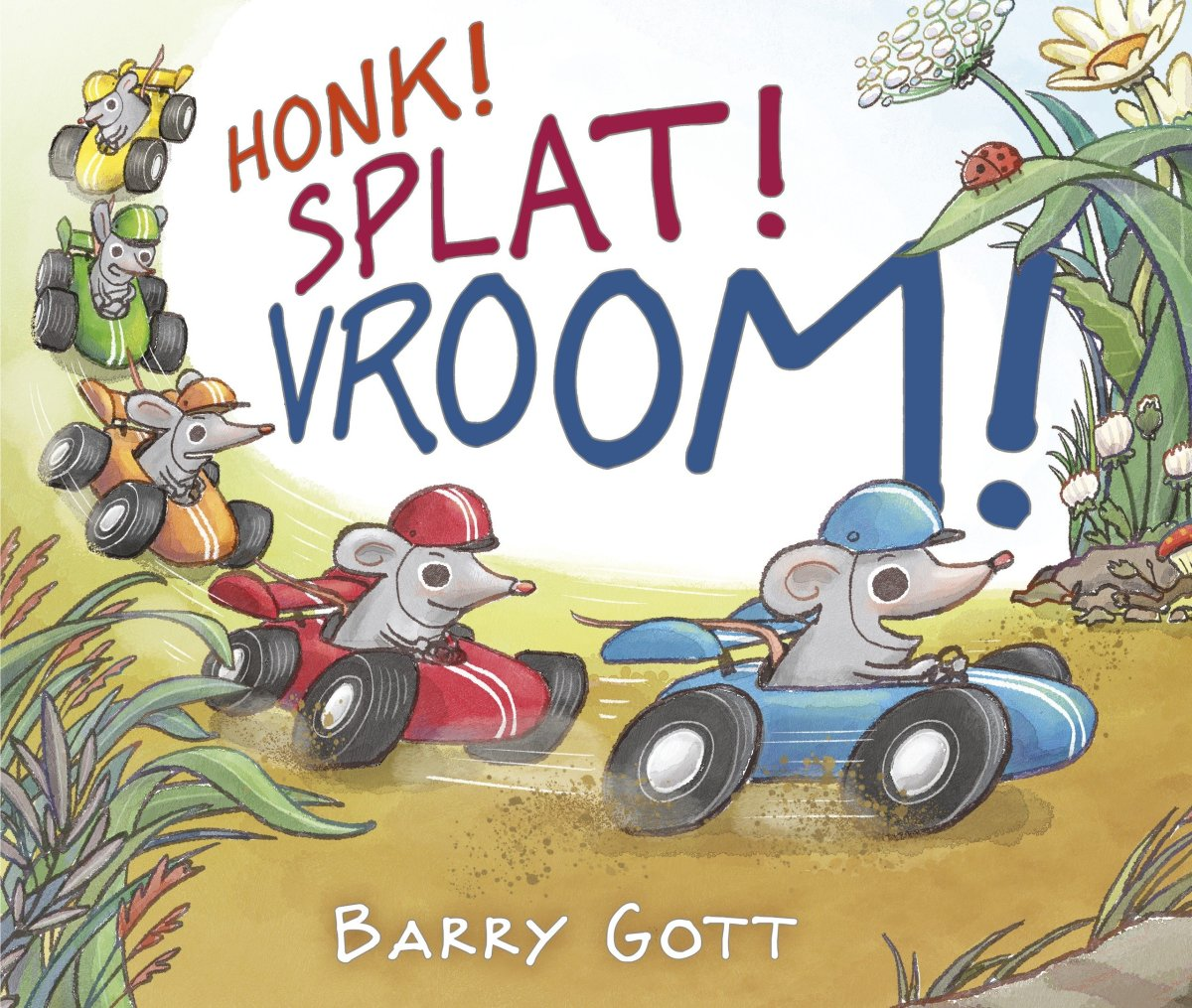 honk splat vroom cover image