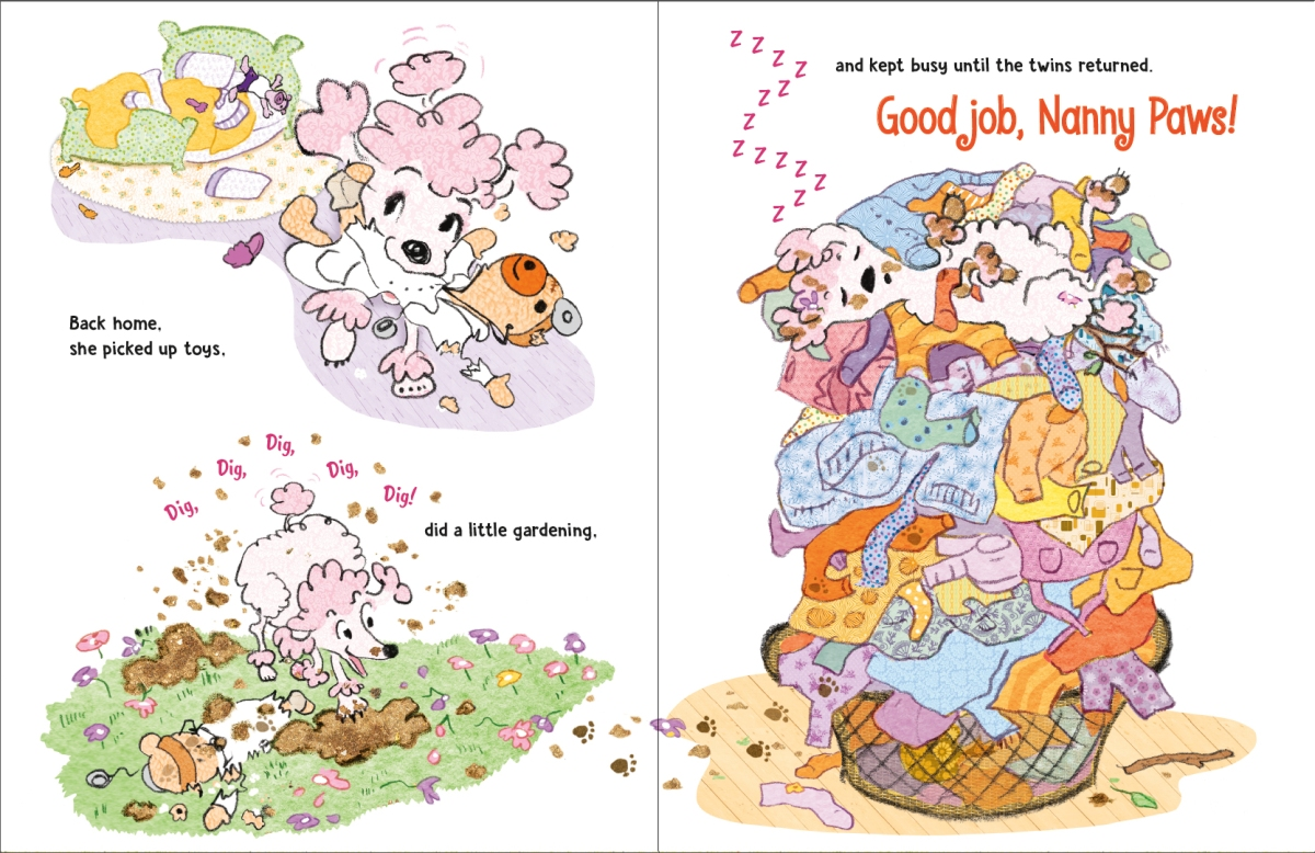 nanny paws interior by Wendy Wahman