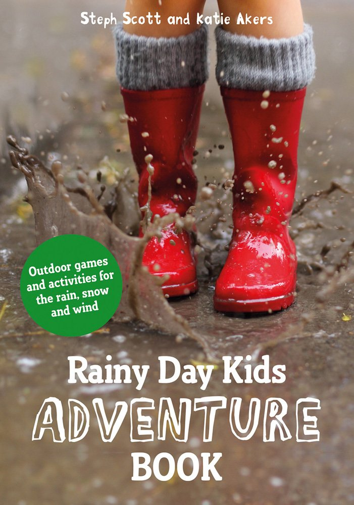 rainy day kids adventure book cover image