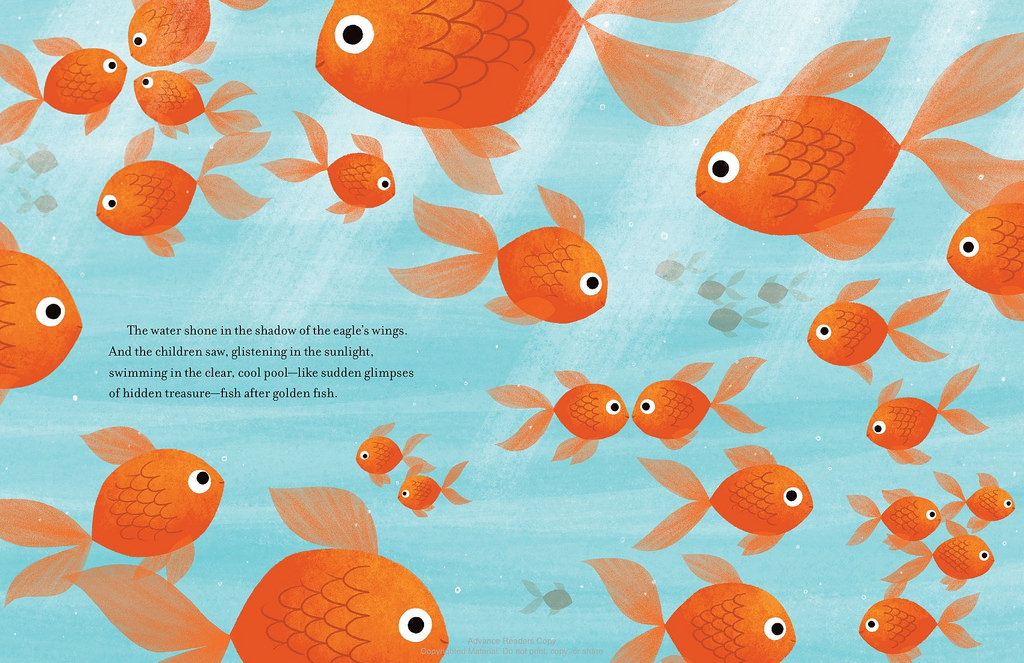 goldfish on vacation interior by Lloyd-Jones and Espinosa