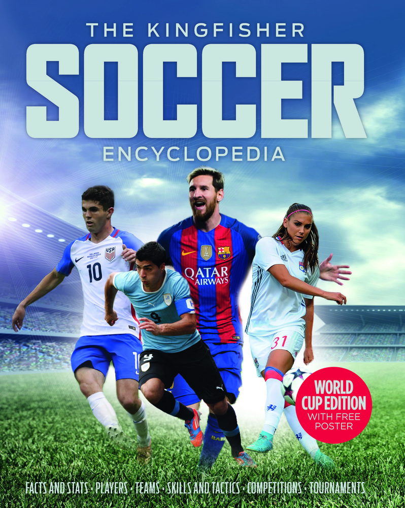 kingfisher soccer encyclopedia cover image