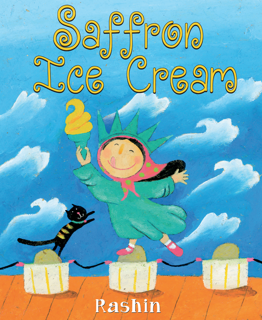 saffron ice cream cover image