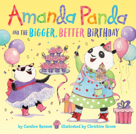 amanda panda birthday cover image