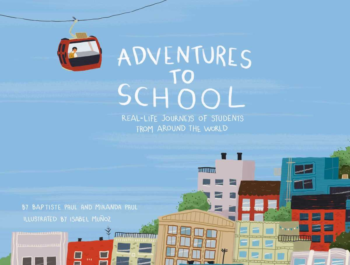 adventures to school cover image