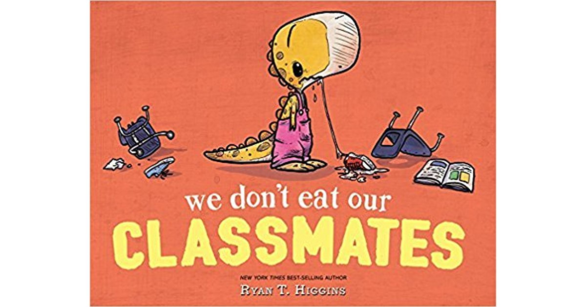 we don't eat our classmates cover image